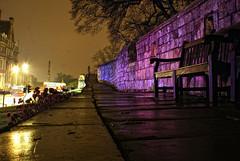 Towards the War Memorial (Trev.Pack) Tags: york citywalls warmemorial afterdark nightfall