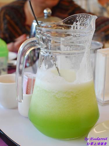 現打哈密瓜汁