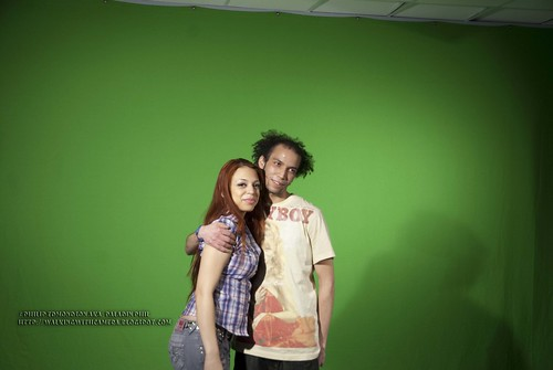 Donovan and Joa: Before Hair styling