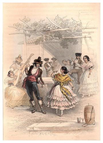 026-Sevilla-Gitanos de Triana-Voyage pittoresque en Espagne et en Portugal 1852- Emile Bégin