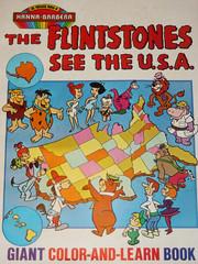 Flintstones giant coloring book, 1978 (kerrytoonz) Tags: usa dino cartoon animation flintstones saturdaymorning coloringbook jetsons yogibear huckleberryhound fredflintstone magillagorilla hannabarbera peterpotamus quickdrawmcgraw lippythelion pebblesandbammbamm irajparan