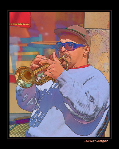 Busker horn 3 (by Silver Image)