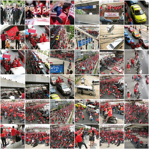 #redmarch mosaic in flickr