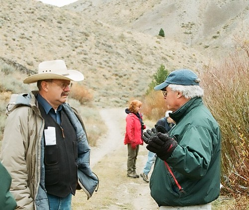 Wally Butler and Jonathan Marvel
