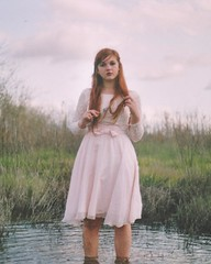 (Anna Hollow) Tags: anna lake me girl fork redhair igottwenty annahatzakis youwantthingamabobs annahollow
