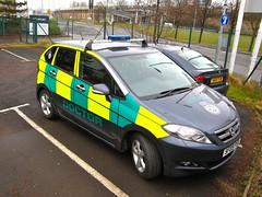 Honda FR-V ES I-CDTI (barronr) Tags: scotland glasgow secc airambulance scottishexhibitionandconferencecentre scottishambulanceservice emergencymedicalretrievalservice