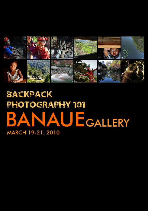 Backpack Banaue Workshop Gallery
