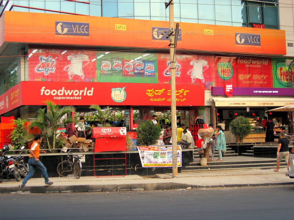 Online food shopping in bangalore