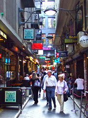 Caf Society, Melbourne (Kumukulanui) Tags: australia melbourne victoria collinsstreet flindersstreet flinderslane centreplace fivecaf