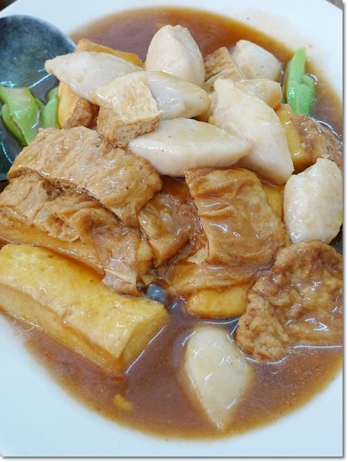Tofu, Beancurd Sheets, Fish Cakes