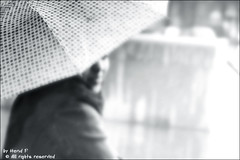 Young girl under the rain (H E N D) Tags: uk photography faisal  hend blackwight  younggirlundertherain