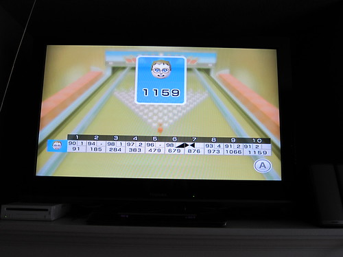 Max's bowling score