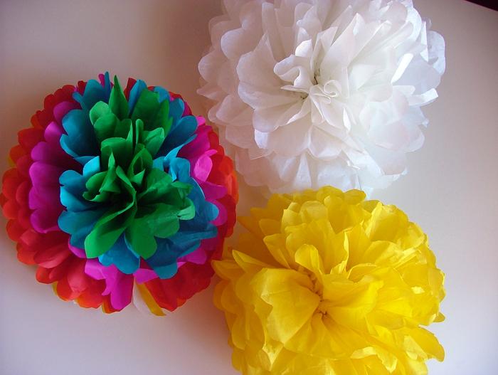 tutorial floral pompons 10