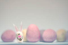 EASTER FUNNY :) (Neal.) Tags: holiday macro rabbit bunny pen ink canon easter scotland chocolate cartoon eggs tictac 1152 500d niffty mintydave clanflickr thosearechoconesattheback