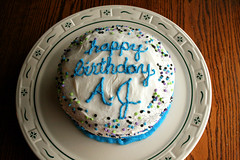 AJ's 11th birthday cake.