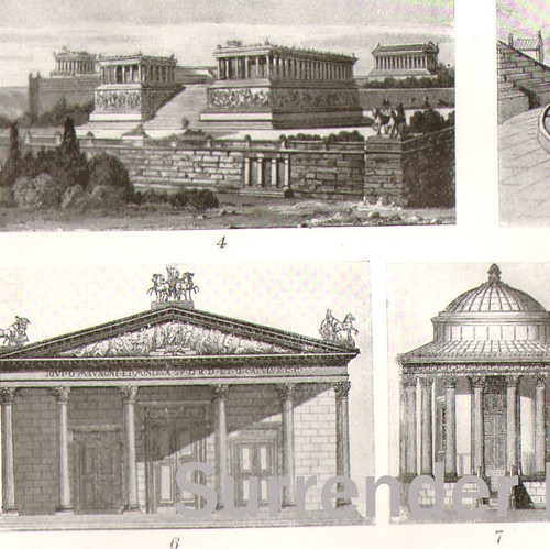 1907 Ancient Greek Buildings