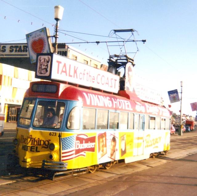 Blackpool Tram 4 by 3000 F300 XOF (AKA Celestial Toymaker)