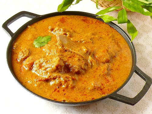 Chettinad Mutton Kuzhambu