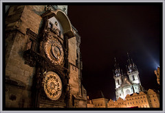 PRAGA (Corregidor) Tags: praga repúblicacheca orloj chequia localización relojastronómico plazadelaciudadvieja iglesiadetyn staromestskenamesty