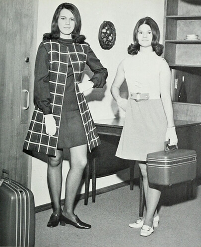 couple o' mini skirts