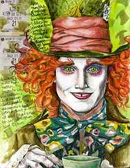 brilliant maddness (Lisa Cheney-Jorgensen) Tags: mad johnnydepp madhatter aliceinwonderland hatter