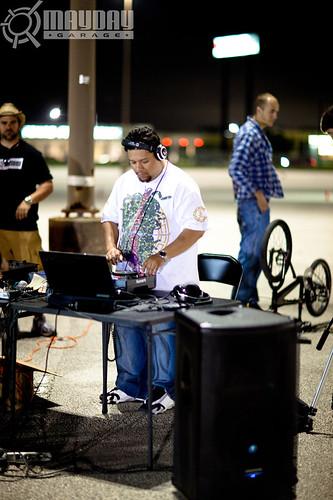 DJ Tito in the mix. KP
