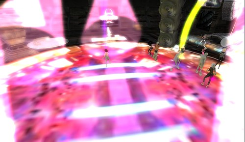 dance floor in second life