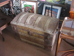 SOLD: Steamer trunk