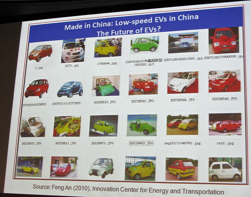 Low Speed EVs in China