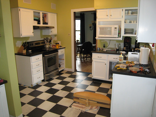 kitchen, mostly done