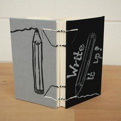 Pencil Stamp Notebook