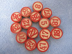 vintage lotto markers