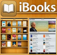 The iBooks store from Apple (Photo credit: Apple.com)