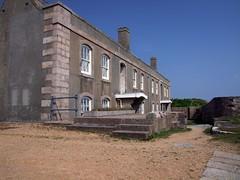 Елизаветский замок на острове Джерси