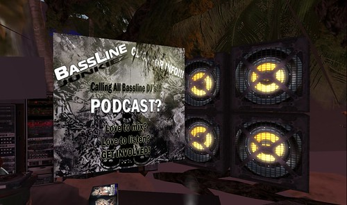 podcast at bassline island