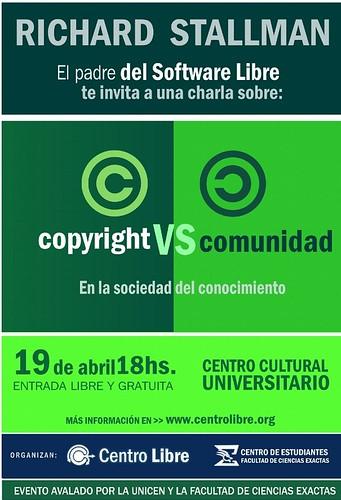 Richard Stallman en Argentina