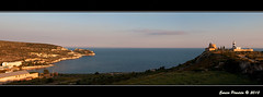 Cagliari - Calamosca (Enrico Piredda) Tags: sardegna panorama nikon mare cagliari calamosca d90 nikkor2470f28