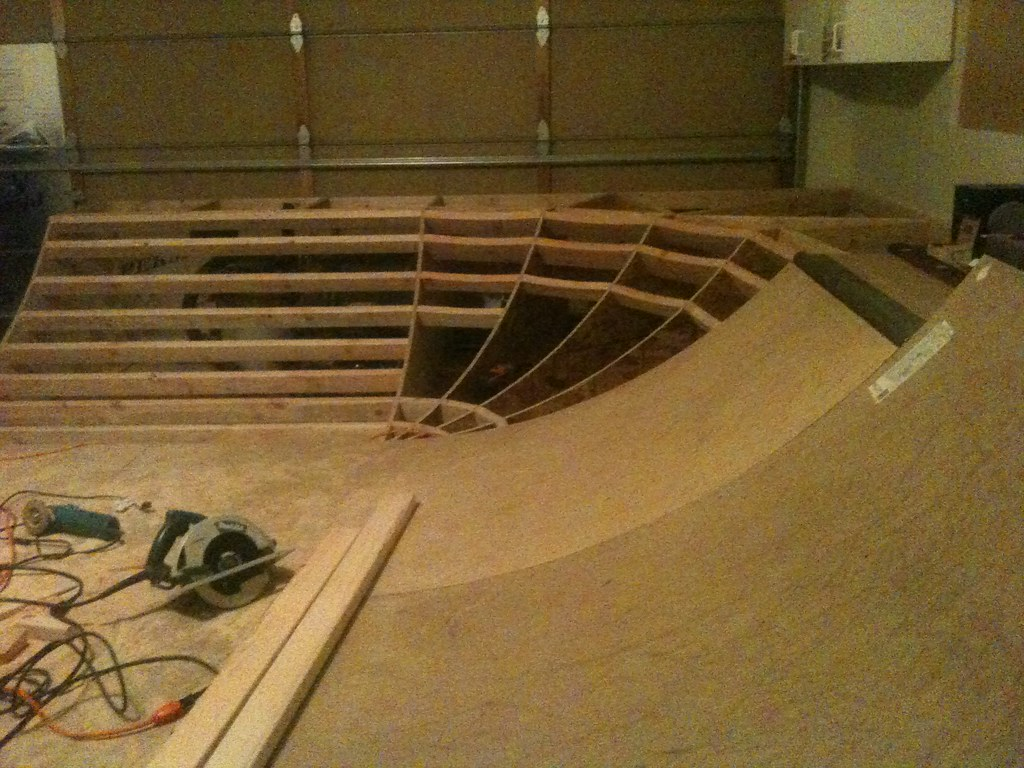 how to build a concrete skateboarding pool
