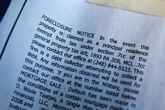 Foreclosure Notice April 14, 20102