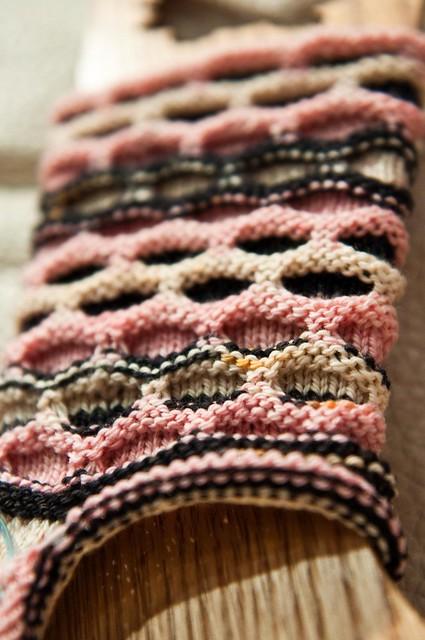 Flapper Circle Socks - WIP