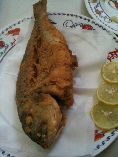 Fresh fish - fried (Abou Ashraf)