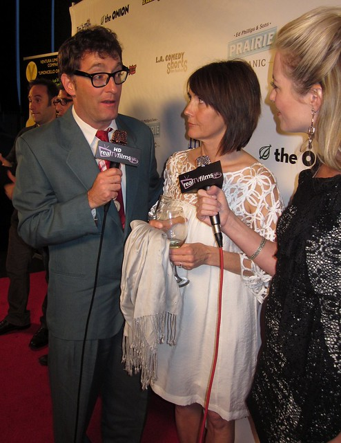 Tom Kenny, Sponge Bob, Jill Talley, LA Comedy Shorts Awards Party