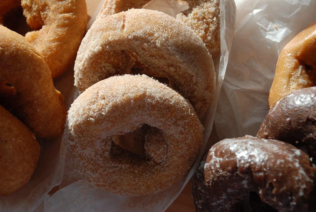 old-fashioned sugar doughnuts