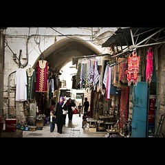 Street of Old City (Flavio Ewerton) Tags: street people woman color colour israel kid stones jerusalem   oldcity yerushalyim