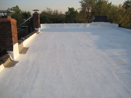 White Roof Coating, Ahead Of Summer