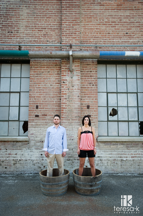 Old Sugar Mill Engagement Session in Clarksburg California by Teresa K photography, Folsom engagement photographer, fashion inspired engagement photos