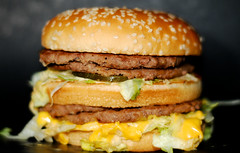 i'm lovin' it (syish adam) Tags: color colour 50mm nikon bokeh burger picture mcdonalds malaysia penang f18 kedah cls twop perlis strob commandermode d80 strobist megamac