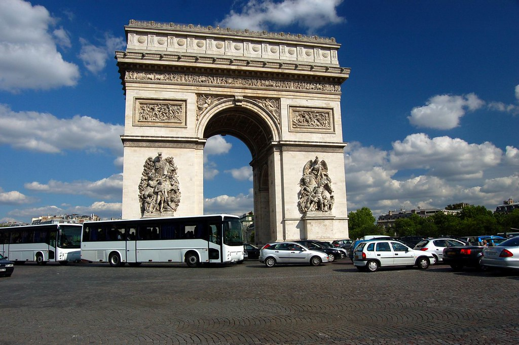 Arc de Triumph, Paris 巴黎 凱旋門 (by synnwang)