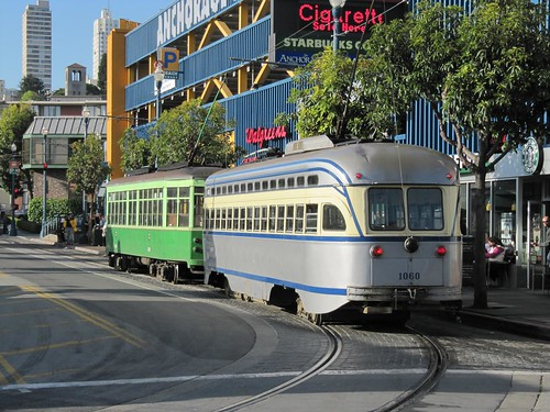 F line streetcars 5937