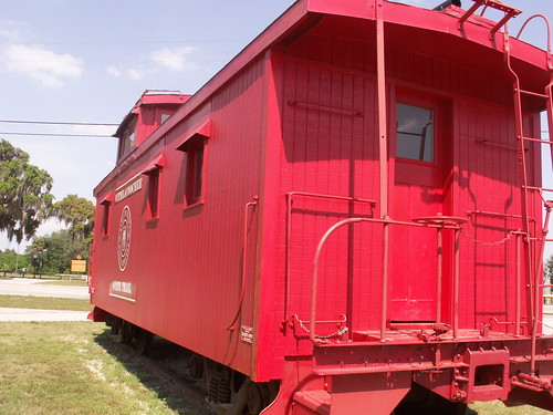 Withlacoochie State Trail Caboose 2
